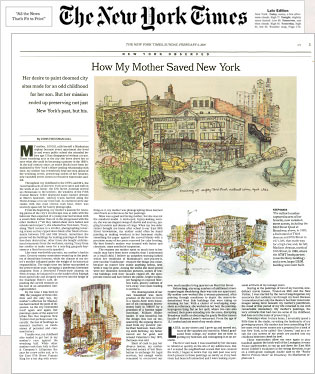 How My Mother Saved New York